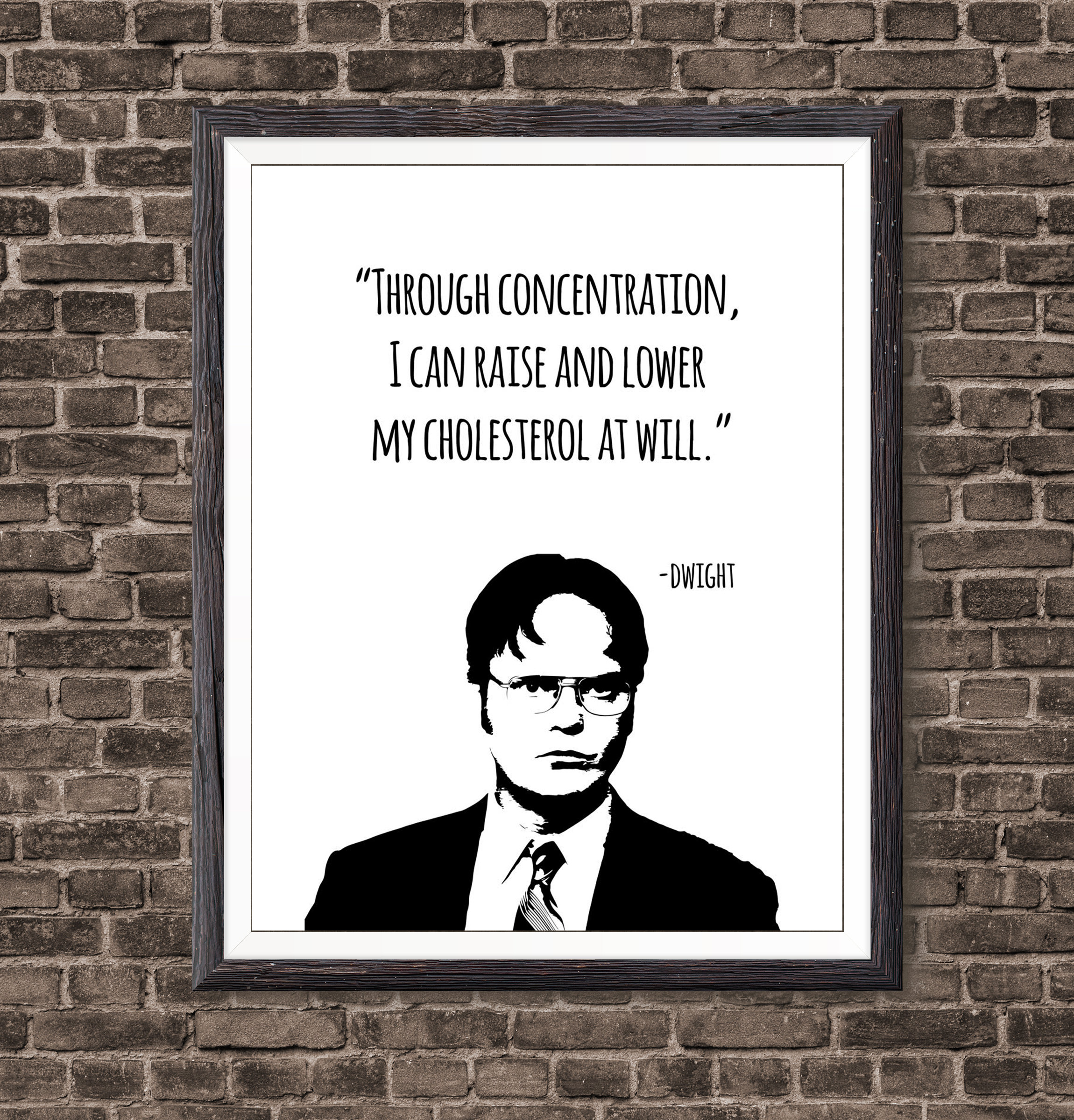 Dwight Schrute Quotes Life Art Print From The Office Tv ...