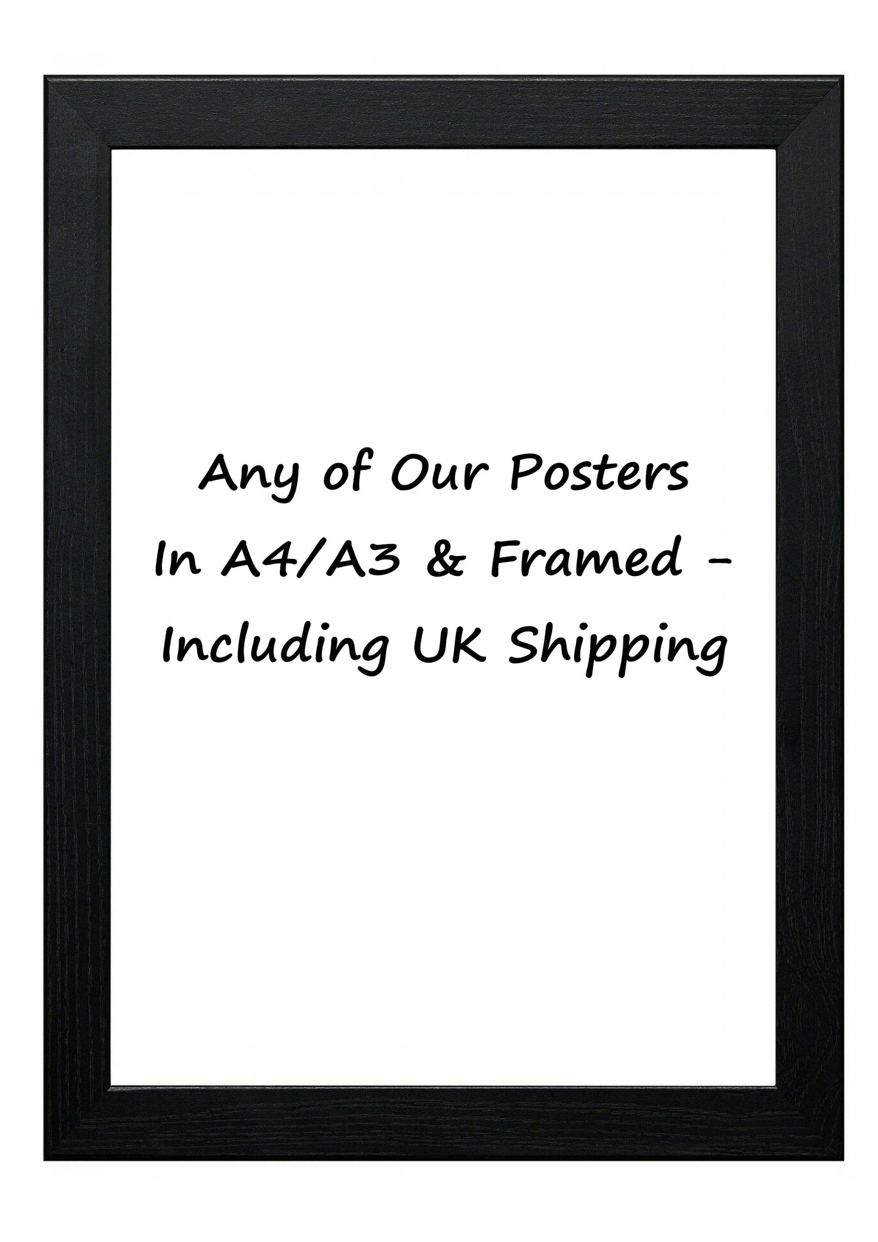 Any, Framed And Delivered In The Uk - Perfect Christmas ...